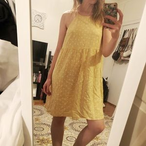 Mossimo Pale Yellow Sundress - Size M